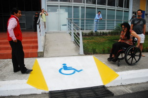 Zully demonstrating an accessibility barrier