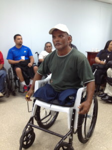 Expresses gratitude  to receive the gift of mobility